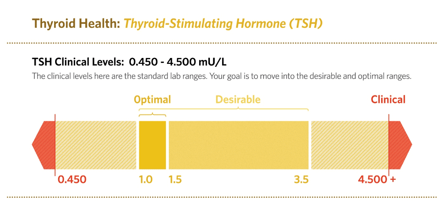 Patients with Hashimoto's disease may have THS levels over 100!